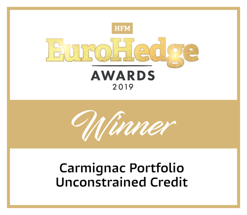 "Carmignac P. Unconstrained Credit - Winnaar in de categorie ""Macro, Fixed Income and Relative Value"""