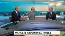 Didier Saint-Georges on Bloomberg TV in New York City